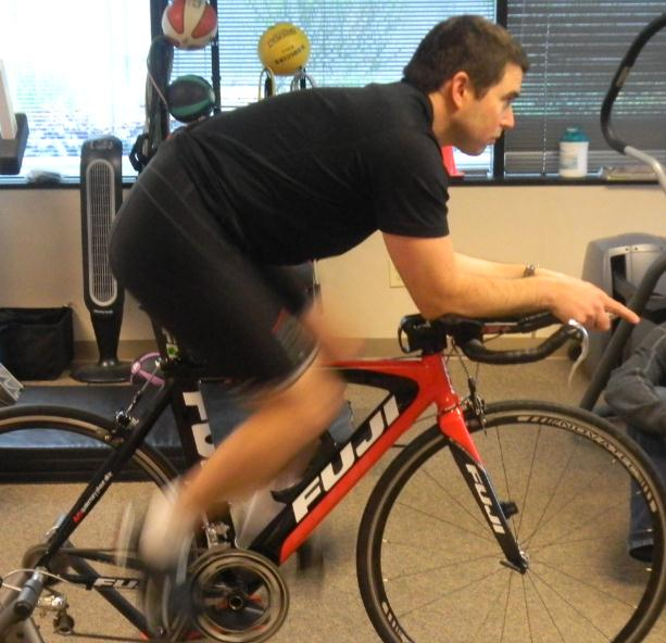 Time Trial Bike Fit After Shoulder Angle Triathlon