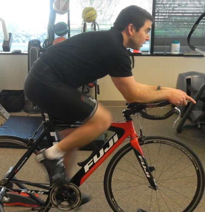 Time Trial Bike Fit Should angle Triathlon