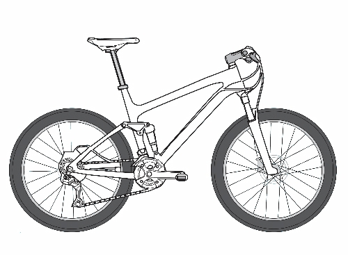 Mountain Bike Diagram With Labels - House Wiring Diagram Symbols •